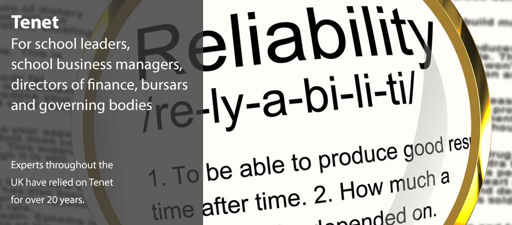 Tenet-slider-reliability